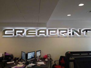 Enseigne de magasin Créaprint